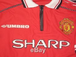 1999 Umbro Manchester United David Beckham Jersey Shirt Kit Real Madrid England
