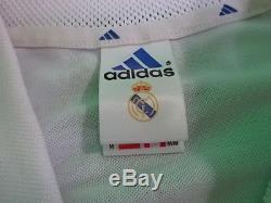 2001-2002 Real Madrid Jersey Shirt Camiseta Home Zinedine Zidane #5 Adidas M