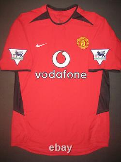 2002 Nike Manchester United David Beckham Jersey Shirt Kit Real Madrid England