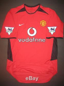 2002 Nike Manchester United David Beckham Jersey Shirt Kit Real Madrid England