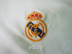 2002 Real Madrid Los Blancos Jersey Shirt Camiseta Home Adidas Zidane #5 XL BNWT