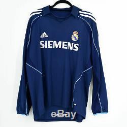 2005-06 Real Madrid Away Shirt #2 M. SALGADO Match Worn Jersey