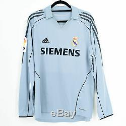 2005-06 Real Madrid Third Shirt #11 CICINHO Match Worn Jersey
