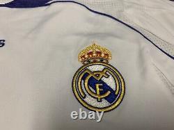 2007 2008 Real Madrid Ruud Van Nistelrooy Jersey Shirt Kit Large L Adidas White