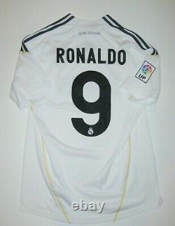 2009-2010 Adidas Real Madrid Cristiano Ronaldo Kit Jersey Home Shirt