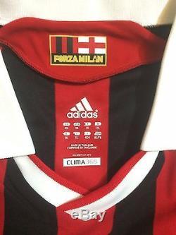 2009 Adidas Alessandro Nesta Real Madrid vs AC Milan Match Issue Shirt Jersey