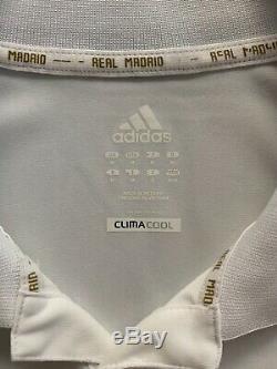 2011/12 Adidas Real Madrid Long Sleeve Champions League Jersey M shirt ramos cr7