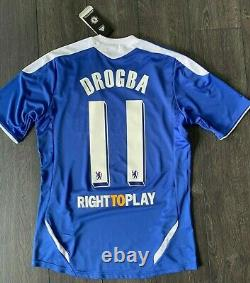 2011-12 Chelsea Home Shirt Jersey Drogba 11 Real Madrid Barcelona Manchester U