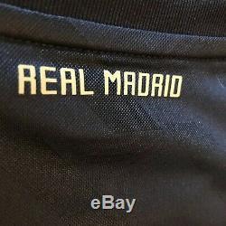 2011/12 Real Madrid Away Jersey #22 Di Maria XL Adidas Football LOS BLANCOS NEW