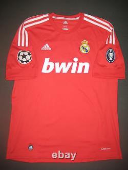 2011/2012 Adidas Real Madrid Cristiano Ronaldo Jersey Shirt Champions League Red