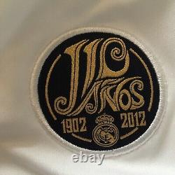 2012/13 Real Madrid Home Jersey #7 RONALDO 2XL Adidas Football LOS BLANCOS NEW