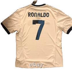 2012/13 Real Madrid Home Jersey #7 RONALDO XL Adidas Football LOS BLANCOS NEW