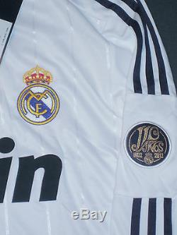 2012/2013 Adidas Real Madrid Cristiano Ronaldo Long Sleeve Jersey Shirt LS Home