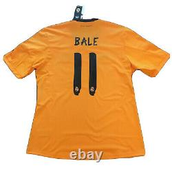 2013/14 Real Madrid Third Jersey #11 BALE Large ADIDAS Football LOS BLANCOS NEW