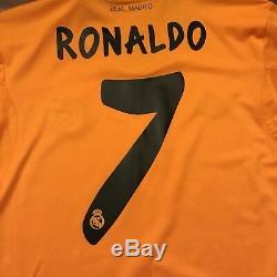 2013/14 Real Madrid Third Jersey #7 RONALDO Large ADIDAS FootballLOS BLANCOS NEW