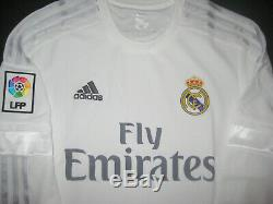 2014/2015 Adidas Real Madrid Cristiano Ronaldo Long Sleeve Jersey Shirt LS Home