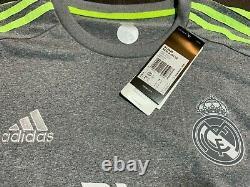 2015-16 Real Madrid Away L/S Ronaldo CL Shirt Jersey Barcelona