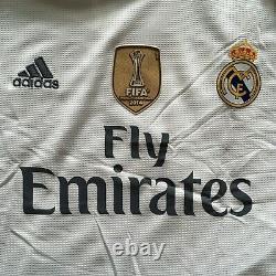 2015/16 Real Madrid Home Jersey #7 Ronaldo 3XL Long Sleeve LOS BLANCOS NEW