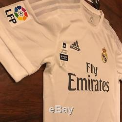 2015/16 Real Madrid Home Jersey #7 Ronaldo Player Issue Adizero Medium Camiseta