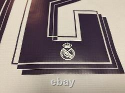 2015 2016 Real Madrid Marcelo Jersey Shirt Kit Adidas White Home Large L 12 Fifa
