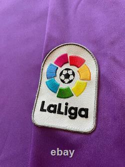 2016/17 Real Madrid Away Jersey #7 RONALDO Large Adidas Long Sleeve Soccer NEW