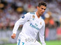 2017-18 Real MADRID Home L/S No. 7 RONALDO UCL 2018 UEFA Champions League FINAL
