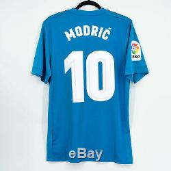 2017-18 Real Madrid Away Player Issue Shirt Adizero #10 MODRIC BNWT M Jersey