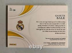 2018-19 Panini Immaculate Jersey Auto card Gareth Bale #03/12