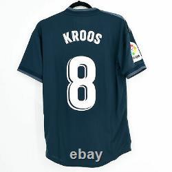 2018-19 Real Madrid Away Shirt #8 KROOS Match Worn Jersey