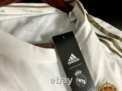 2019/20 Real Madrid Authentic Home Shirt Jersey BNWT New Ramos Hazard Kroos