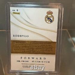 2020 Panini Immaculate Collection Soccer Rodrygo Real Madrid Rookie #20/99