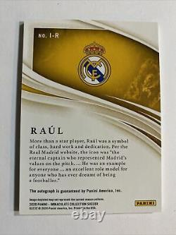 2020 Panini Immaculate RAUL Auto 11/99 Ink Real Madrid