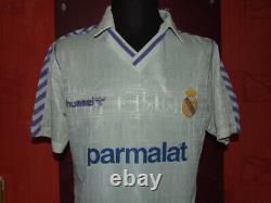 7 Butragueno Real Madrid 1988/1989 Maglia Shirt Calcio Football Jersey Camiseta