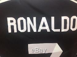 ADIDAS F49264 REAL MADRID Y-3 DRAGON UCL AWAY 3rd JERSEY 2015 CRISTIANO RONALDO