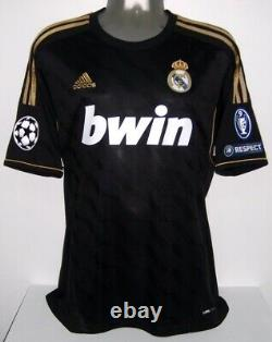 ADIDAS REAL MADRID AWAY CHAMPIONS 2011 RONALDO S ORIGINAL JERSEY SHIRT Je134