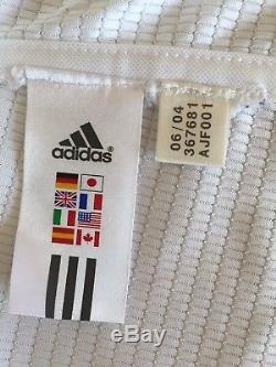 Adidas 2004 2005 Real Madrid Football Shirt Soccer Jersey 11 Owen L/s Ronaldo