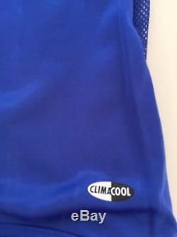 Adidas 2004 2005 Real Madrid Zidane 5 Football Shirt Dual Layer Match Jersey S/s