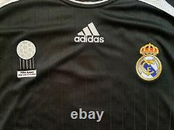 Adidas 2006/07 Real Madrid R. Carlos Player Issue Formotion Long Sleeve Jersey L