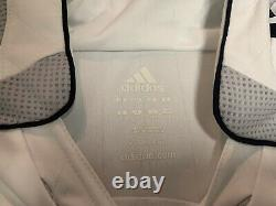Adidas 2006 2007 Real Madrid Roberto Carlos Jersey Shirt Kit White Home Large L