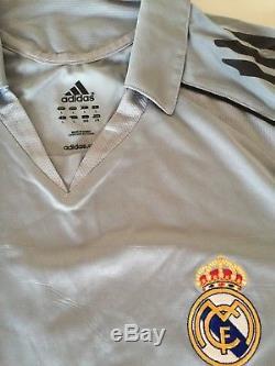 Adidas 2006 2007 Real Madrid Robinho Football Shirt Match Worn Soccer Jersey L/s