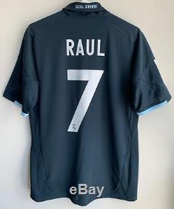 Adidas 2009/10 Real Madrid Raul Away Jersey M shirt kit spain ronaldo