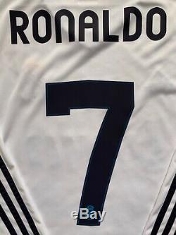 Adidas 2012/13 Real Madrid Cristiano Ronaldo Long Sleeve Jersey L portugal shirt