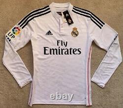 Adidas 2014/15 Real Madrid Ronaldo Long Sleeve Jersey S shirt portugal kit CR7