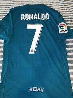 Adidas Adizero Real Madrid Jersey, #7 Cristiano Ronaldo, Large, Nwt