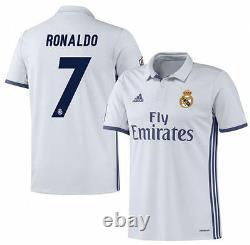 Adidas Cristiano Ronaldo Real Madrid Home Jersey 2016/17