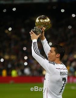Adidas Cristiano Ronaldo Real Madrid Jersey 2014-2015 Small L/S Champions League