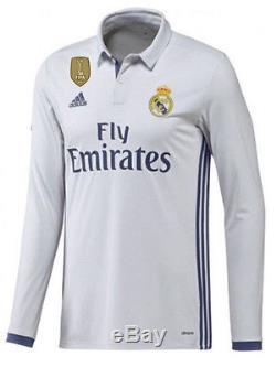 Adidas Cristiano Ronaldo Real Madrid Long Sleeve Home Jersey 2016/17 Cwc Fifa Pa