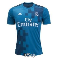 Adidas Cristiano Ronaldo Real Madrid Teal 2017/18 Third Jersey