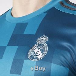 Adidas Cristiano Ronaldo Real Madrid Uefa Champions League Third Jersey 2017/18