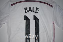 Adidas Gareth Bale Real Madrid Home Jersey 2014